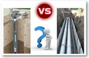 Центральный водопровод или скважина ?? Что выбрать?